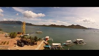 Phantom 2 Quadcopter with GoPro over water