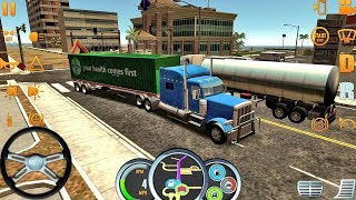 Truck Simulator USA #20 - Truck Games Android IOS gameplay