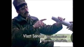 Bakony Harcihelikopter Ezred éleslövészete