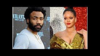 Rihanna y Donald Glover se encuentran para filmar nuevo proyecto