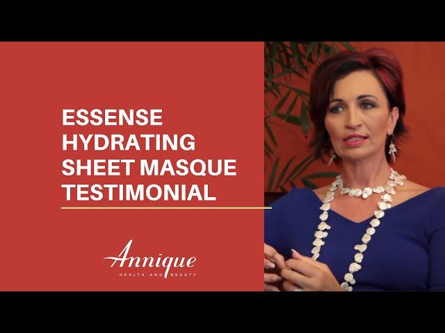 Essense Hydrating Sheet Masque | Irma Viljoen Testimonial