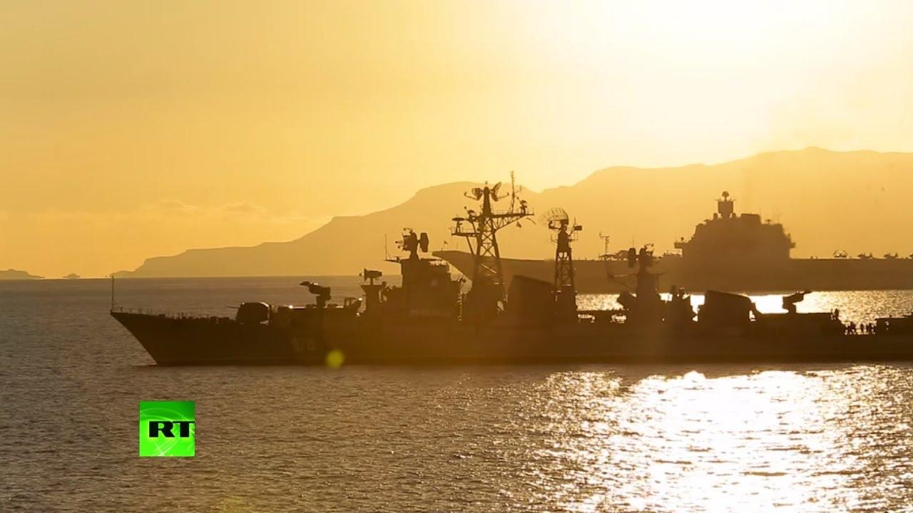 Самые зрелищные моменты учений ВМФ России