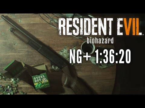 Resident Evil 7 - NG+ Easy Speedrun in 1:36:20 [Personal Best]