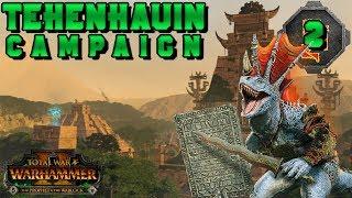 LAUNCH DAY Tehenhauin Campaign #2 | Total War: Warhammer 2 The Prophet & The Warlock