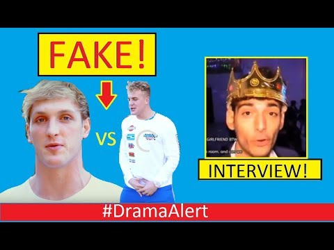 Logan Paul Vs Jake Paul (FAKE BEEF) #DramaAlert Ice Poseidon (INTERVIEW) Dolan Twins , KSI