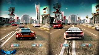 Split Second Velocity PC Gameplay Split Screen Fun High Settings 720p HD