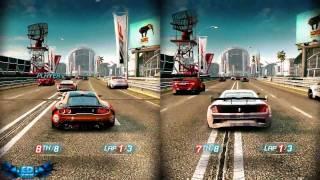 Split Second Velocity PC Gameplay Split Screen Fun High Settings 720p HD