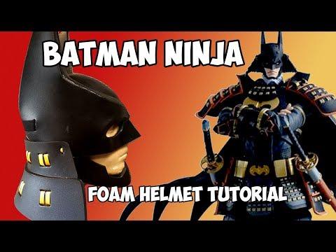 Batman Ninja foam helmet DIY Cosplay Costume