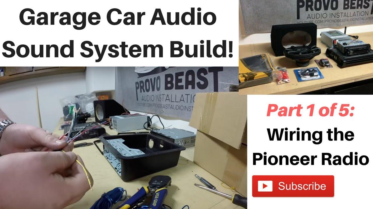 building a garage audio system part 1 wiring the radio [ 1280 x 720 Pixel ]