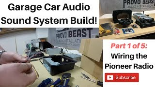 Building a Garage Audio System Part 1: Wiring the Radio