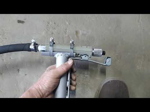 Доработка бластера (пескоструйного пистолета)