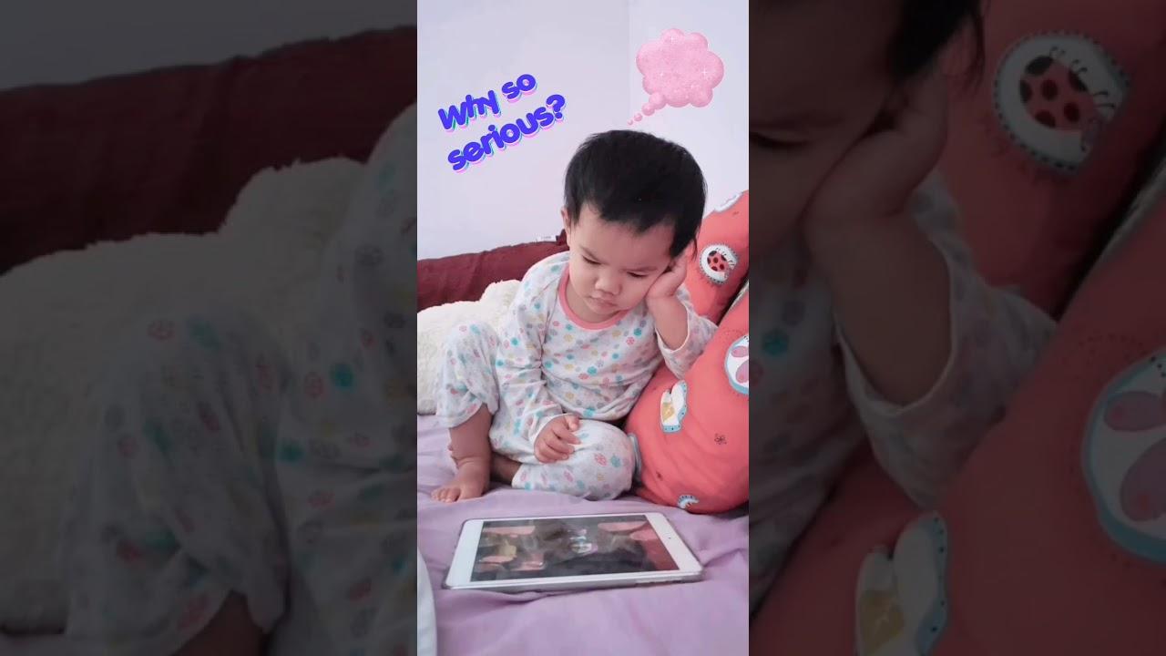Funny baby 😅😅😂😂 - YouTube