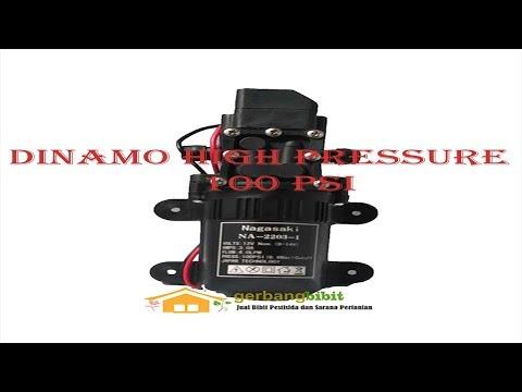 Dinamo Dc 12v High Pressure 100psi Pompa 4 0 Lpm Untuk Cuci Ac Cuci