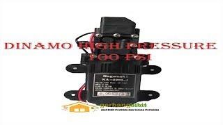 Download Video Dinamo DC 12v High Pressure 100psi Pompa 4.0 LPM untuk cuci Ac, cuci Motor Mobil Sprayer MP3 3GP MP4