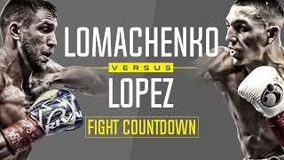 Fight Countdown: Vasiliy Lomachenko vs Teofimo Lopez | October 2020