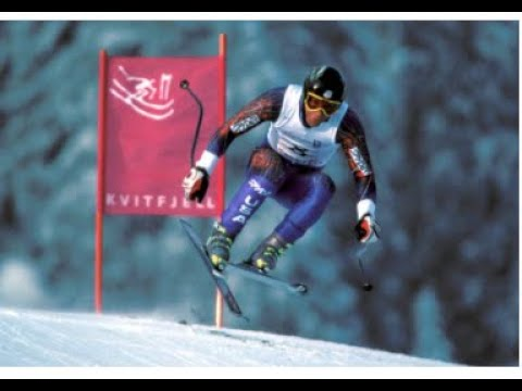 Tommy Moe Olympic downhill gold (Lillehammer 1994)