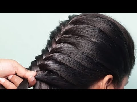 beautiful-perfect-puff-hairstyle-|-every-day-quick-and-easy-hairstyles-|-hair-style-girl