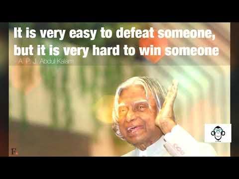 Tribute to Kalam sir.
