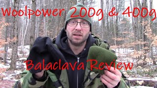 Woolpower Balaclava 200g & 400g Review & Uses