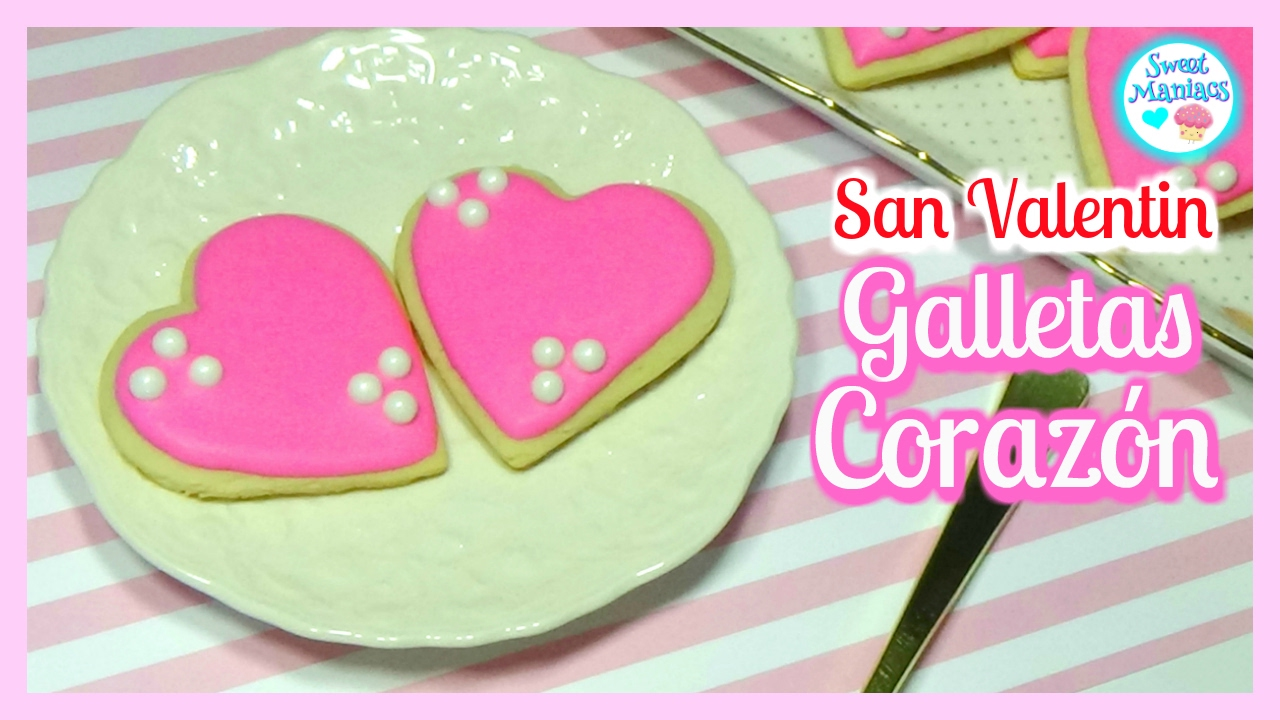 Decorar Con Glasa Real Cómo Decorar Galletas Para San Valentín Con Glasa Real Sweet Maniacs