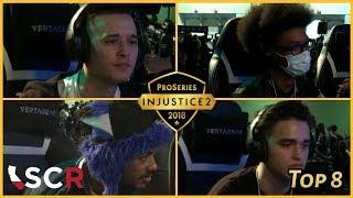 Injustice 2 Pro Series: SCR 2018 (Top 8) SonicFox, HoneyBee, Rewind, Deoxys