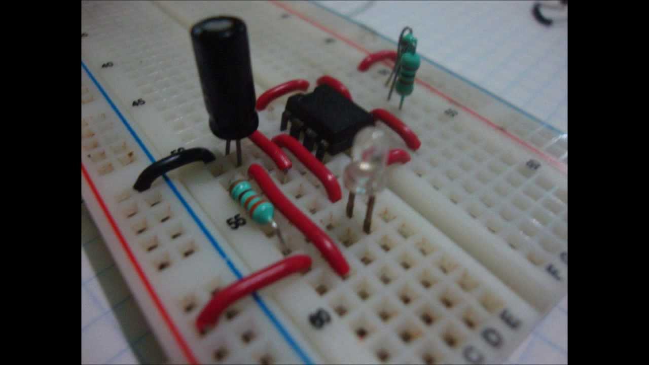 Circuito Integrado 555 : Circuito integrado youtube