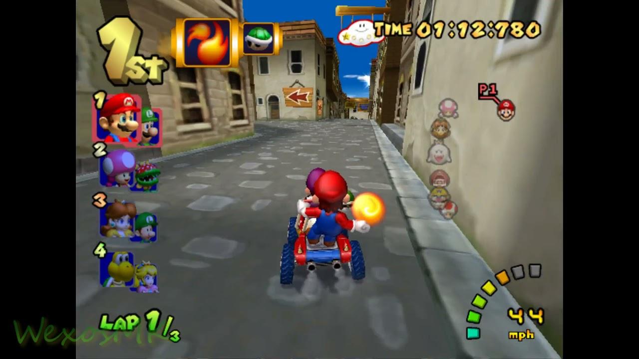 [MKDD] DS Delfino Square - Mario Kart Double Dash Custom Track