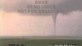 6/8/1999 Corson County South Dakota Tornado Stock Video.
