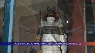 Yvelines | Une exposition 3D au quartier des antiquaires de Versailles
