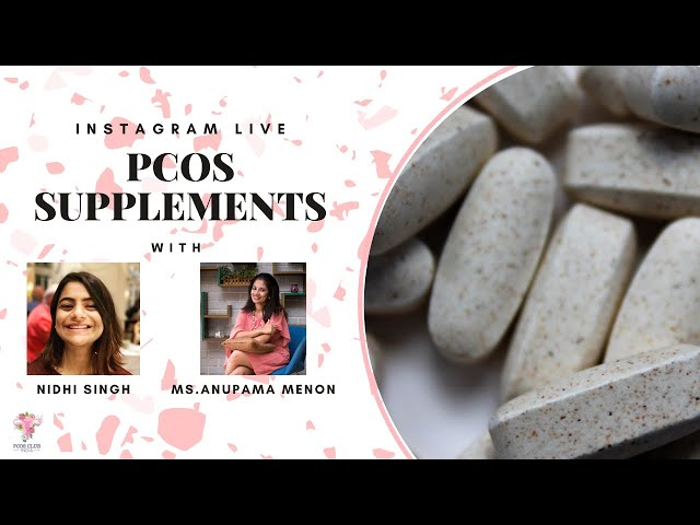 PCOS Supplements [ Instagram Live]