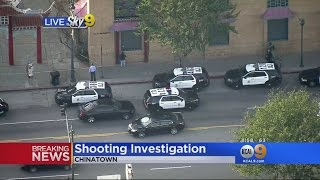 Homicide Detectives Called To Scene Of Double Shooting In Chinatown