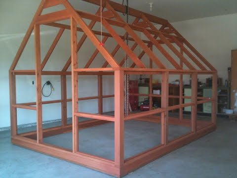 Greenhouse Plans - Greenhouse Kits - Polycarbonate Covered - Cedar Framed - Preview