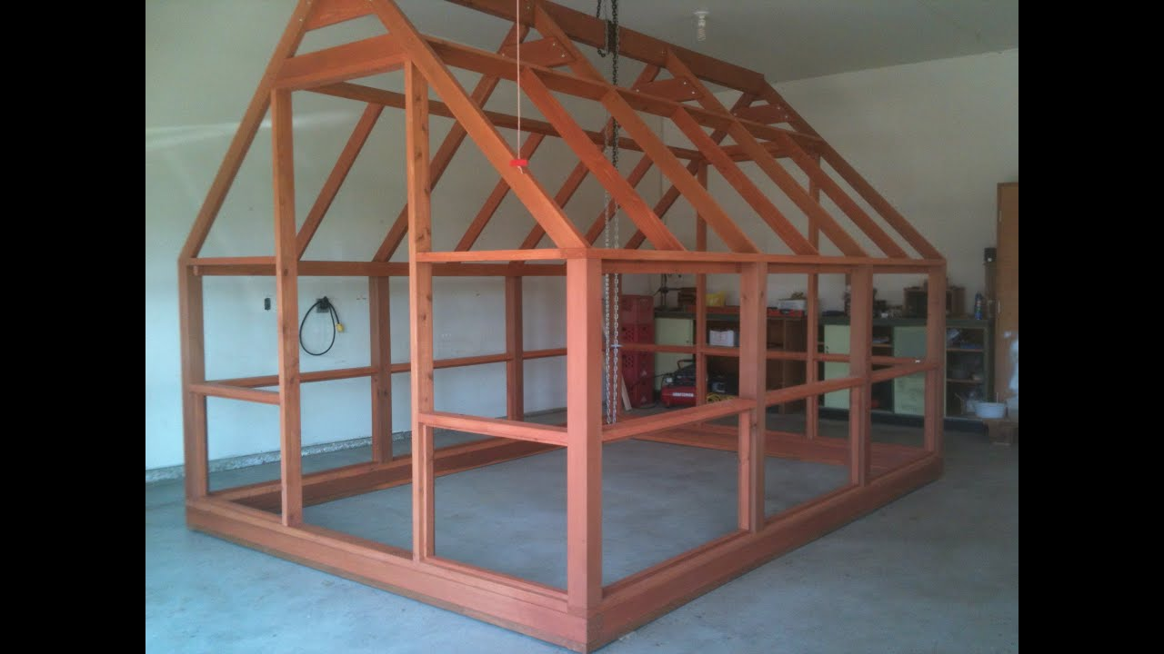 Greenhouse Plans   Polycarbonate Covered   Cedar Framed   Preview   YouTube Part 47