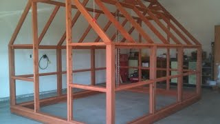 Greenhouse Plans - Polycarbonate Covered - Cedar Framed - Preview