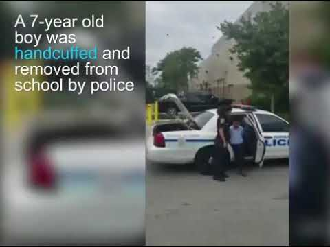7 year-old handcuffed by police after attacking teacher in Miami