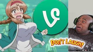 Try Not To Laugh Challenge DANK ANIME VINES Edition!! #3