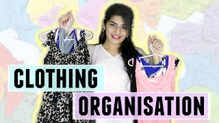 How I Organise My Clothes in a Small Closet   Dhwani Bhatt