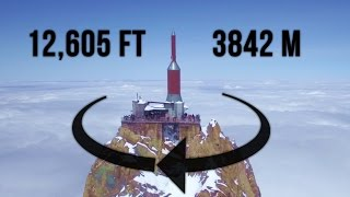 Epic Drone Flight Above The Clouds @ Aiguille du Midi (Chamonix Mont-Blanc) DJI Point-of-Interest