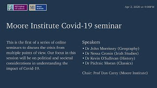 Political and societal considerations in understanding the impact of Covid-19