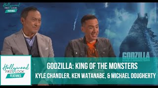 GODZILLA: KING OF THE MONSTERS (2019)   KYLE CHANDLER, KEN WATANABE, & MICHAEL DOUGHERTY