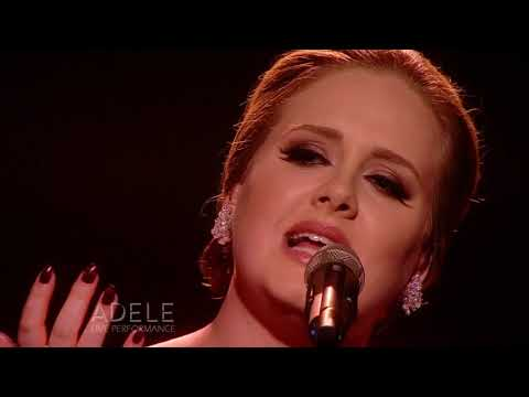 Adele  Someone Like You  at The BRIT Awards 2011