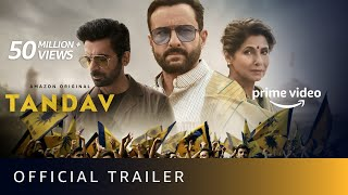Tandav - Official Trailer | Saif Ali Khan, Dimple Kapadia, Sunil Grover | Amazon Original | Jan 15