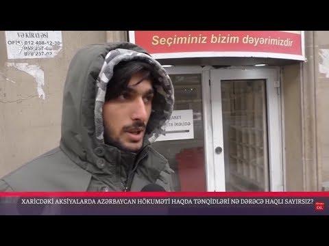 Xaricdəki azərbaycanlılar etirazlarında haqlıdırlarmı?
