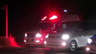 館林地区消防 緊急走行 10