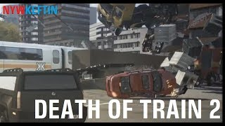 Crash Time 4 funny moments - Death of train 2