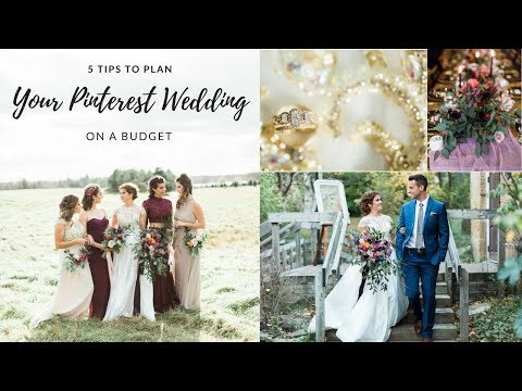 How to Plan a Pinterest Wedding on a Budget
