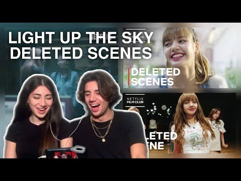 BLACKPINK Light Up The Sky DELETED SCENES REACTION!!!