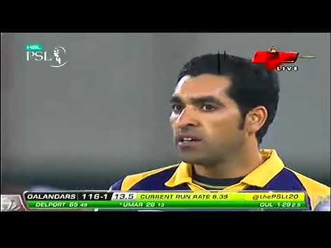 [PSL 2016] Umar Akmal 93 runs in 40 Balls