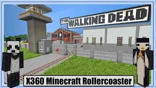 The WALKING DEAD Xbox360 Minecraft Rollercoaster