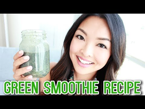 healthy-green-smoothie-recipe-(fat-burn-&-weight-loss)